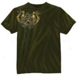 Black Ink Design™ Usmc Angel Of Death Vintage Tee