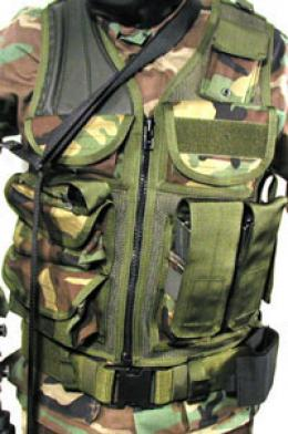 Blackhawk® Omega Tactical Vest: Eod  Mesh