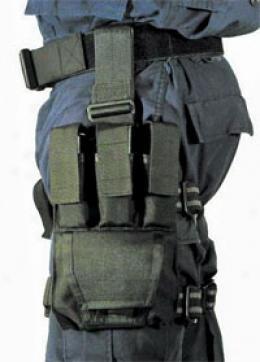 Blackhawk® Omega Triple Pistol Mag/double Cuff  Black