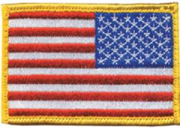 Blackhawk® Us Flag Red White& Blue W/velcro®