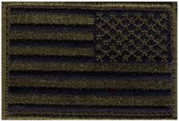 Blackhawk® Us Flag Subbdued W/velcro® 2'' X 3''