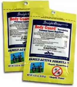 Body Guard™ Family-active Insect Repellent Towelette