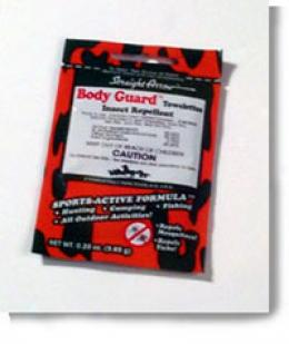 Body Guard™ Sports- Active Insect Repellent Towelette