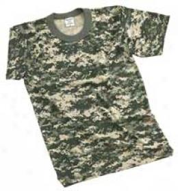 Bqm Acu Digital Camo T Shirts