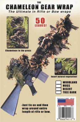Bushrag® Camouflage Systems Chameleo Gear Wrap Rifle Cover