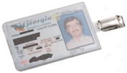Cardsafe™ Id Badge / Admission Card Holder