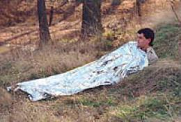 Cocoon Space Age Emergency Thermal Sleeping Bag-blanket