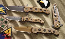 Columbia River® Carson Desert Military Tactical Folder