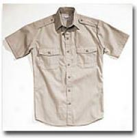 Combat Cloth® Law Field & Duty Shirt- Short Sleeve Tan