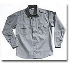 Combat Cloth® Law Field & Duty Shirt- Long Sleeve Grey