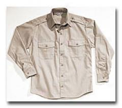 Combat Cloth® Law Field & Duty Shirt- Long Sleeve Tan