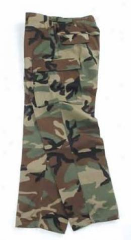 Combat Ready™B di Trousers, Nyco Ripstop - Woods Camo