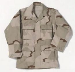 Combat Ready™   Dcu Coat Enhanced Nyco Ripstop - Desert 3-camo