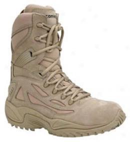 Converse® Women's8 '' Side-zip Desert Tan Safety-toe Boots