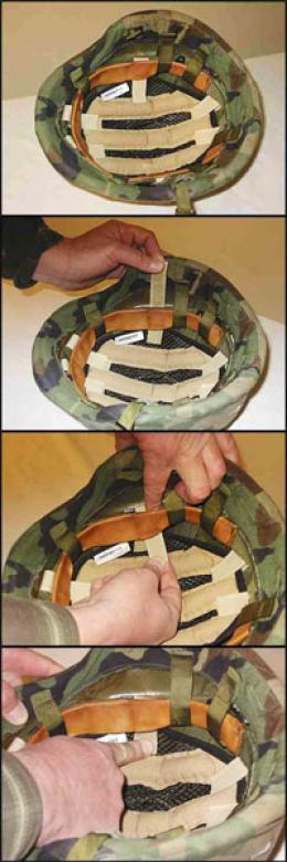 Cool-aid™ Pasgt Combat Helmet Cooling Insert