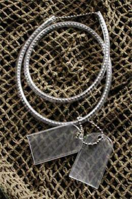 G.i. Dog Tag Chain & Silencer Kit