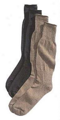 Gi Issue Cushion Sole Woolen Socks ~ 3 Pk