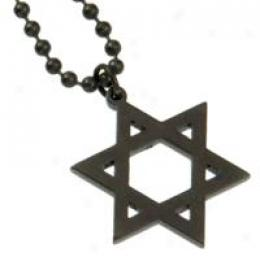 Gi Jewelry® Star Of David - Titanium Nitride Finish