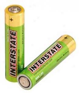 Interstate® Aaa Alkaline Batteries - 4pk