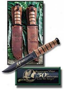 Ka-bar® Korean War 50th Annivesary U.s. Army Commemorative Fighting Knife