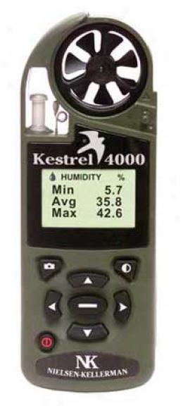 Kestrel® 4000 Pocket Weather™ Tracker™ With Red Backlight