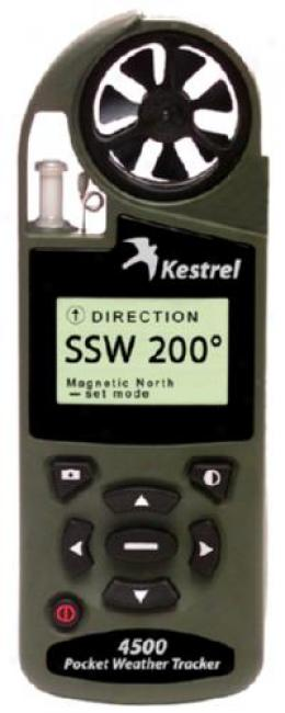 Kestrel® 4500nv Pocket Weather® Tracker