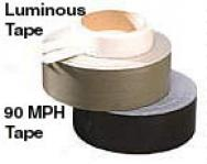 Luminous ''cat-eye'' Marking Tape 6'' Strips