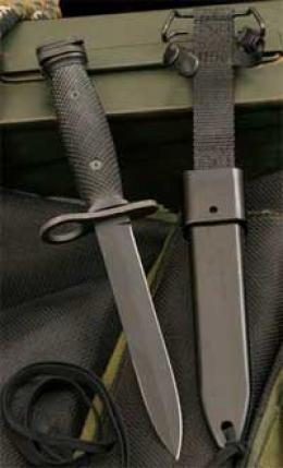 M-7 Bayonet And M-10 Sfabbard