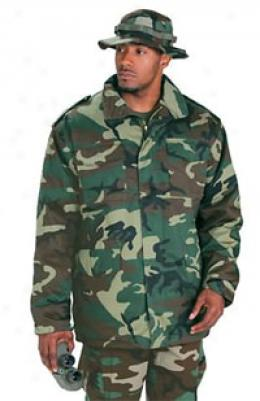 M65 Army Style Cold Weather Field Coat With Liner