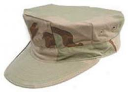 Marine 8 Point Cap- Dcu Camouflage Without Ega Emblem