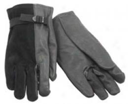 Military D3a Leather Light Duty Embroider Gloves