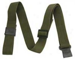 Military Rifle Sling M1/m14 - Cotton, Olive Green, 1-1/4''