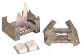 Mpi Rationz® Pocket Stove W/ 6 Compressed Fuel Bars