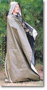 MpiS pace® Brand Altogether Weather™ Emergency Hooded Blanket/ Poncho