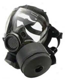 Msa® Millennium™ Gas Mask Rca/cba Cbrn Canister