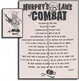 Murphy's Laws Of Comba tT-shirt