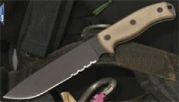 Ontario® Rat-7™ Bush/survival Knife 1095c Steel- Combo Edge