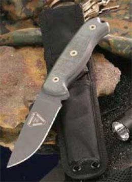 Ontario® Tak™ Survival Knife - D2 Steel W/plaih Edge