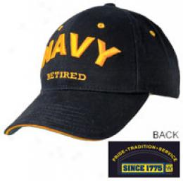Pro-pocket® Navy Retired Cap