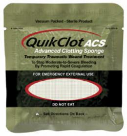 Quikclot Acs™?advanced Clotting Sponge
