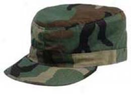 Ranger Bdu Combat Cap W/ Crown Map Pocket