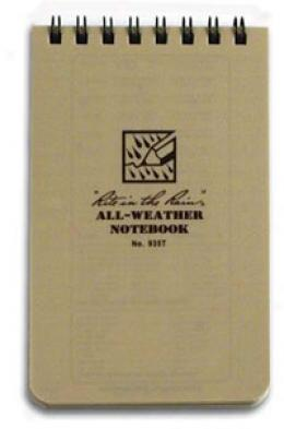 Rite In The Rain® All-weather Paper Lozenge, 3''x 5'', Tan 935t