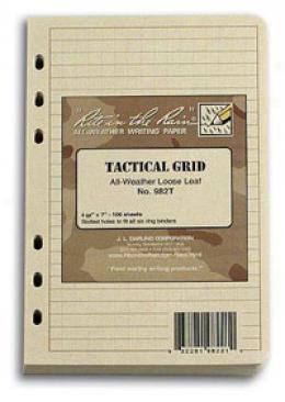 Rite In The Rain® Stormsaf™ Tactical Field Binder Refill Pack, Tan 982t