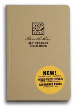 Rite In The Rain® Stormsaf™ All-weather Paper Tactical Field Bopk, Tan 980t