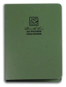 Rite In The Rain® Stormsaf™ All-weather Paper Tactical Field Binder W/ Paper, Od