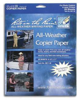 Rite In The Rain® Stormsaf™ White 8-1/2'' X 11'' All-weather Copy Ppaer