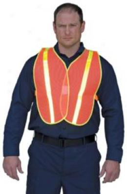 Sayre® Reflectlve Motorcycle Vest
