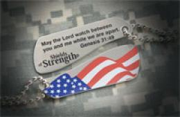 Shields Of Strength® Split Dog Tag Necklaces