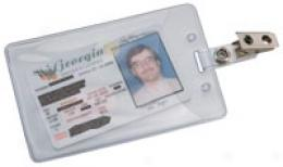 Slip-in Style Government/ Military Id Holder, 2-pack