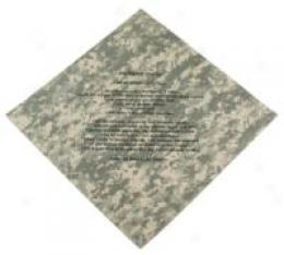 Soldier's Creed Acu Bandanna